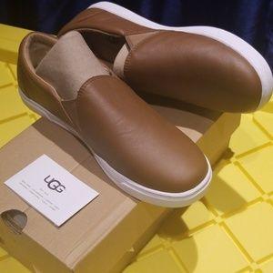 WKitlyn Leather Sneakers